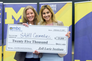 Michigan Business Challenge Winner 2017 Sahi
