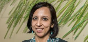 Harinee Sampath receives Valenti Award for Exceptional Entrepreneurial Development